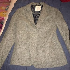 Vintage type gray blazer from H&M